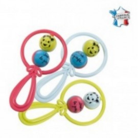 HOCHET 2 BOULES SOPHIE LA GIRAFE-jouets-sajou-56