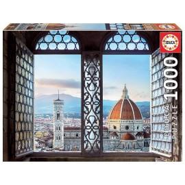 PUZZLE VUE DE FLORENCE ITALIE 1000 PIECES