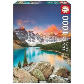 PUZZLE LAC MORAINE CANADA 1000 PIECES