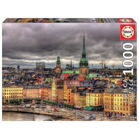 PUZZLE VUE STOCKHOLM SUEDE 1000 PIECES