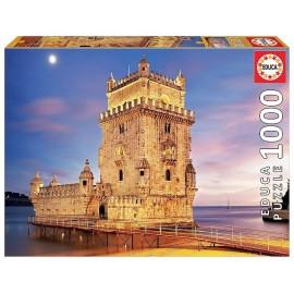 PUZZLE TOUR DE BELEM LISBONNE PORTUGAL 1000 PIECES