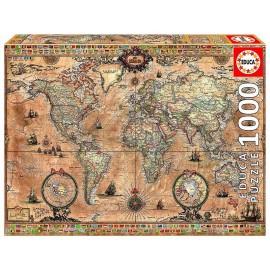 PUZZLE MAPPEMONDE 1000 PIECES