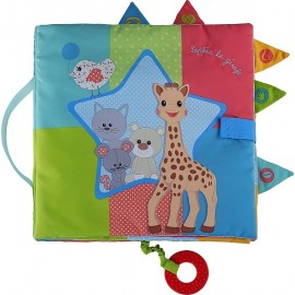 SENSITIVE BOOK SOPHIE LA GIRAFE-jouets-sajou-56