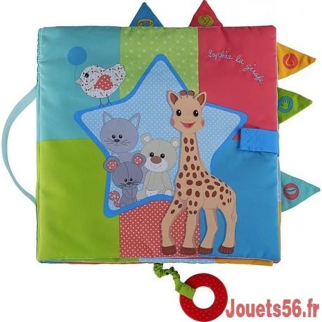 SENSITIVE BOOK SOPHIE LA GIRAFE-jouets-sajou-56