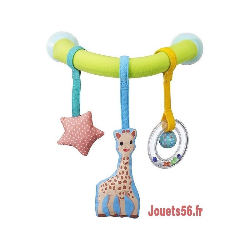 arche de voiture ventousable sophie la girafe