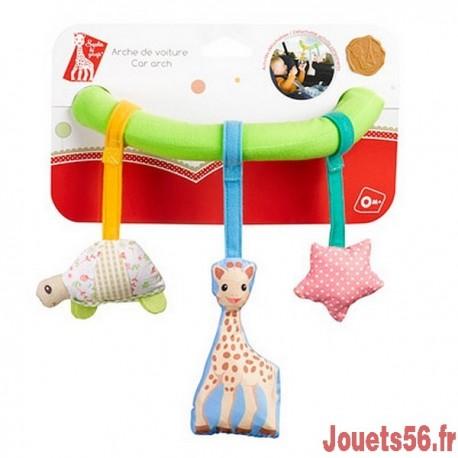 ARCHE DE VOITURE VENTOUSABLE SOPHIE LA GIRAFE-jouets-sajou-56