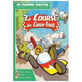 LIVRE MA 1ERE AVENTURE LA COURSE DES CASSE TOUT-LiloJouets-Morbihan-Bretagne