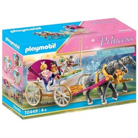 70449 CALECHE ET COUPLE ROYAL PLAYMOBIL PRINCESS-LiloJouets-Morbihan-Bretagne