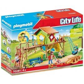 70281 PARC DE JEUX ENFANTS PLAYMOBIL CITY LIFE