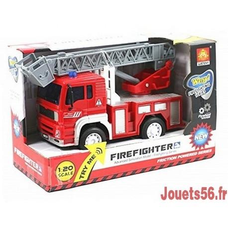 CAMION DE POMPIER 18CM-jouets-sajou-56