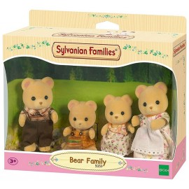FAMILLE OURS SYLVANIAN FAMILIES