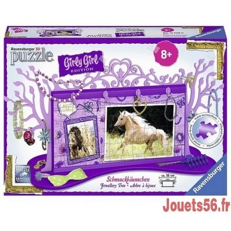 ARBRE A BIJOUX CHEVAUX GIRLY GIRL 108P-jouets-sajou-56