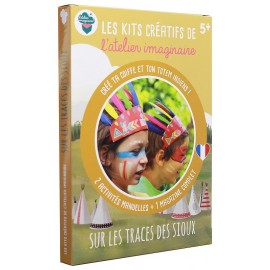 KIT CREATIF INDIENS SIOUX
