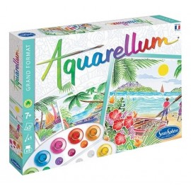 AQUARELLUM PAYSAGES TROPICAUX GRAND FORMAT