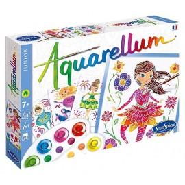 AQUARELLUM JUNIOR BALLERINES 4 TABLEAUX