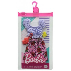 TENUE COMPLETE BARBIE SUR CINTRE ASST