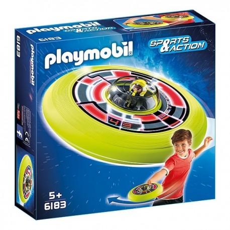 6183 SPATIONAUTE AVEC SOUCOUPE-jouets-sajou-56