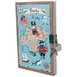 JOURNAL SECRET PIRATES 18X12CM-LiloJouets-Morbihan-Bretagne