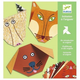 POCHETTE ORIGAMI ANIMAUX 24 FEUILLES INITIATION A ORIGAMI