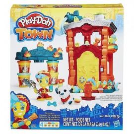 MAISON DE POMPIER PLAY-DOH TOWN-jouets-sajou-56