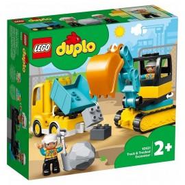 10931 LE CAMION ET PELLETEUSE LEGO DUPLO