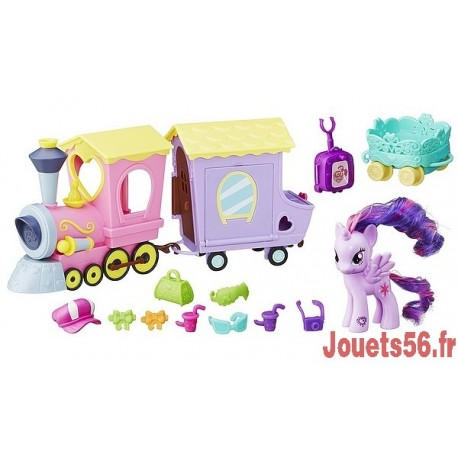 TRAIN DE L'AMITIE MY LITTLE PONY -jouets-sajou-56