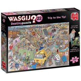 PUZZLE WASGIJ TRIP TO THE TIP 1000 PIECES DESTINY PUZZLE N22-LiloJouets-Morbihan-Bretagne