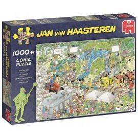 PUZZLE COMIC PLATEAU DE CINEMA 1000 PIECES JAN VAN HAASTEREN