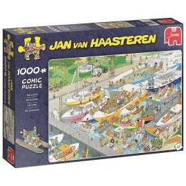 PUZZLE COMIC ECLUSE 1000 PIECES JAN VAN HAASTEREN
