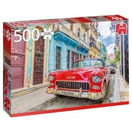 PUZZLE VOITURE LA HAVANE CUBA 500 PIECES