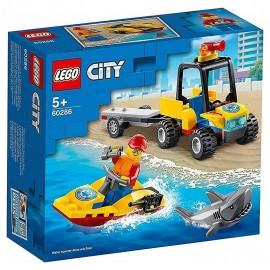 60286 LE TOUT TERRAIN DE SECOURS DE LA PLAGE LEGO CITY-LiloJouets-Morbihan-Bretagne