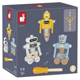 ROBOTS A CONSTRUIRE BRICO KIDS