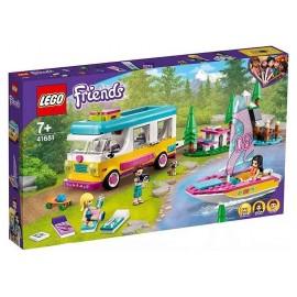 41681 CAMPING-CAR ET VOILIER DE LA FORET LEGO FRIENDS-LiloJouets-Morbihan-Bretagne