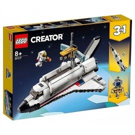31117 AVENTURE NAVETTE SPATIALE LEGO CREATOR 3EN1-LiloJouets-Morbihan-Bretagne