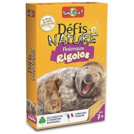 ANIMAUX RIGOLOS DEFIS NATURE CARTES