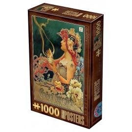PUZZLE CHOCOLAT 1000 PIECES VINTAGE POSTERS