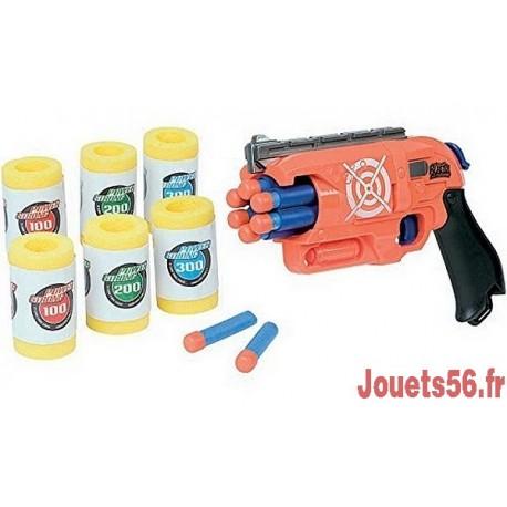PISTOLET FLECHETTES CANETTES-jouets-sajou-56
