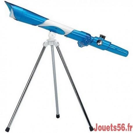 TELESCOPE AVEC TREPIED ASTRONOMIQUE ET TERRESTRE-jouets-sajou-56