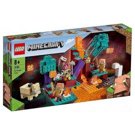 21168 LA FORET BISCORNUE LEGO MINECRAFT-LiloJouets-Morbihan-Bretagne