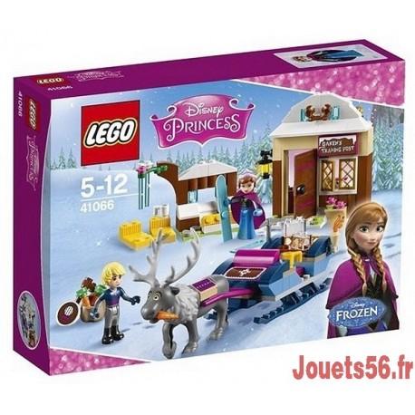 41066 LE TRAINEAU D'ANNA ET KRISTOFF REINE DES NEIGES-jouets-sajou-56