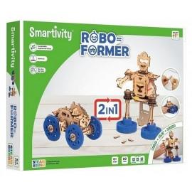 SMARTIVITY ROBOFORMER BOIS 2EN1 83 PIECES-LiloJouets-Morbihan-Bretagne