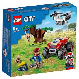 60300 QUAD SAUVETAGE ANIMAUX SAUVAGES LEGO CITY-LiloJouets-Morbihan-Bretagne