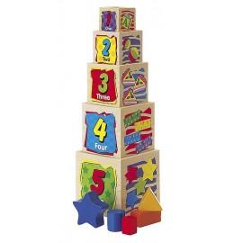 CUBES A EMPILER EN BOIS-jouets-sajou-56