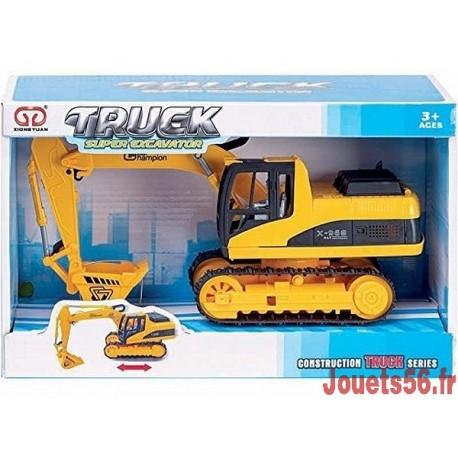 VEHICULES TRAVAUX PUBLICS 25CM ASST-jouets-sajou-56