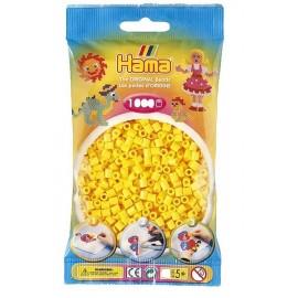 SACHET 1000 PERLES HAMA JAUNES-jouets-sajou-56