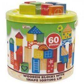 BARIL BOIS CONSTRUCTION 60PCS-jouets-sajou-56