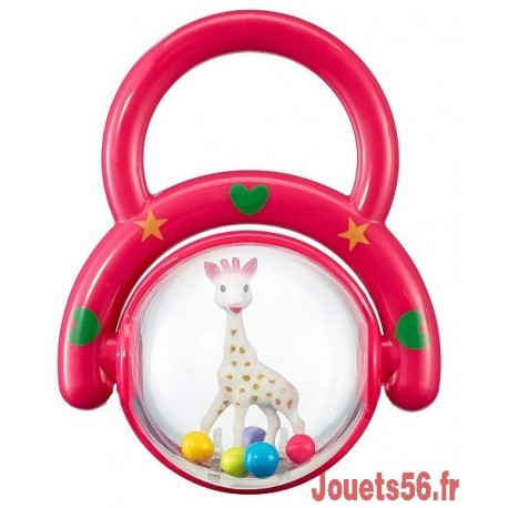 HOCHET POIGNEE SOPHIE LA GIRAFE-jouets-sajou-56