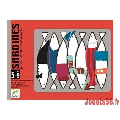 JEU DE CARTES SARDINES-jouets-sajou-56