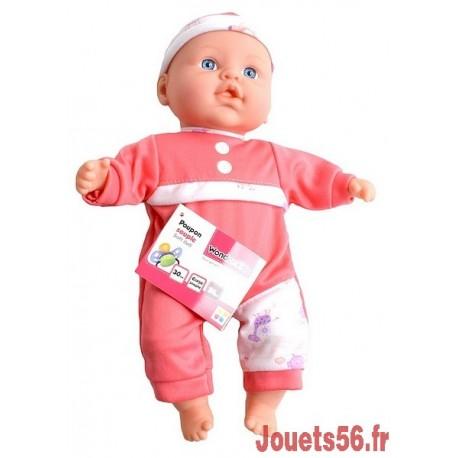 POUPON SOUPLE 30CM-jouets-sajou-56