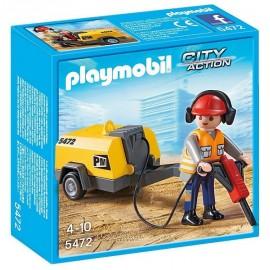 5472-OUVRIER AVEC MARTEAU PIQUEUR-jouets-sajou-56